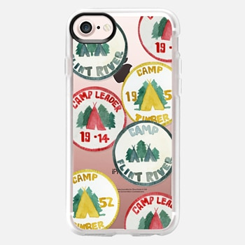 iPhone 7 Case Summer Camp Badges