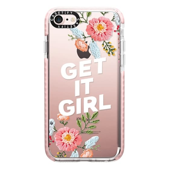 iPhone 7 Cases - Get It Girl - Floral