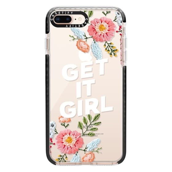 iPhone 8 Plus Cases - Get It Girl - Floral