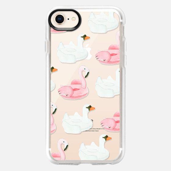 Pool Float - Swan & Flamingo  - Snap Case