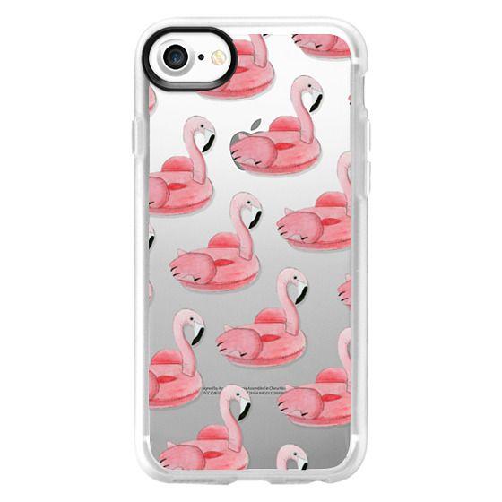 iPhone 7 Cases - Summer Flamingo Float