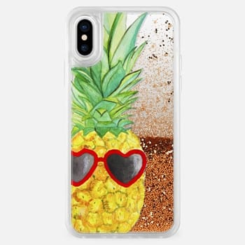 iPhone X Case Pineapple