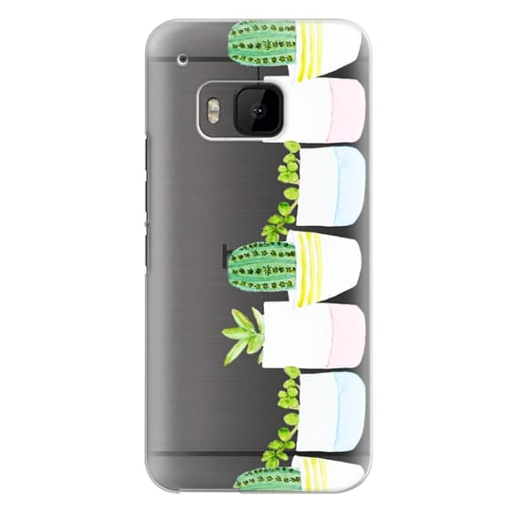 Htc One M9 Cases - Happy Succulents