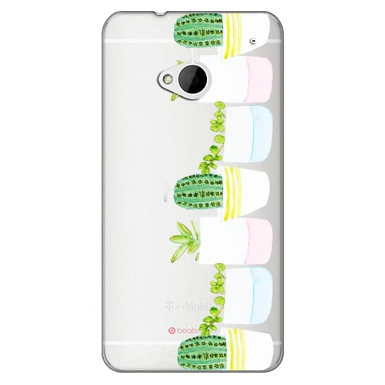 Htc One Cases - Happy Succulents