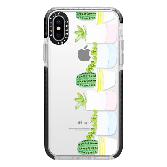 iPhone X Cases - Happy Succulents