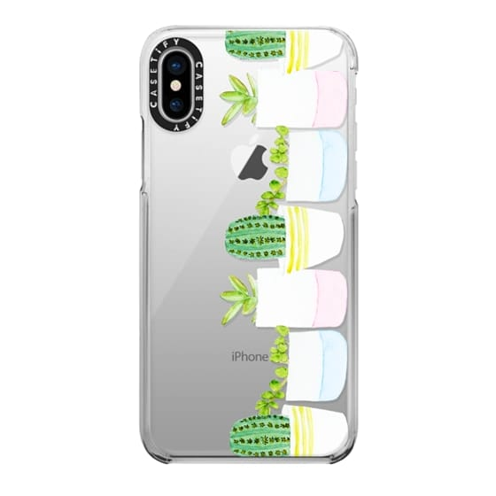 iPhone X Cases - Happy Succulents