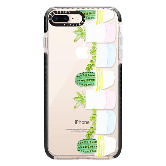 iPhone 8 Plus Cases - Happy Succulents