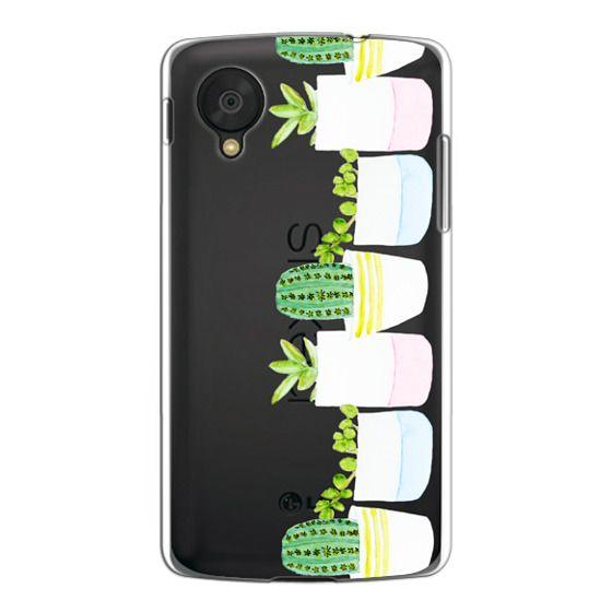 Nexus 5 Cases - Happy Succulents