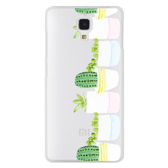 Xiaomi 4 Cases - Happy Succulents
