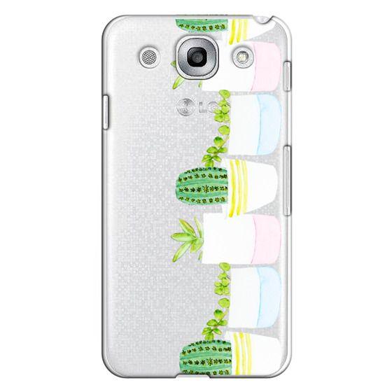 Optimus G Pro Cases - Happy Succulents