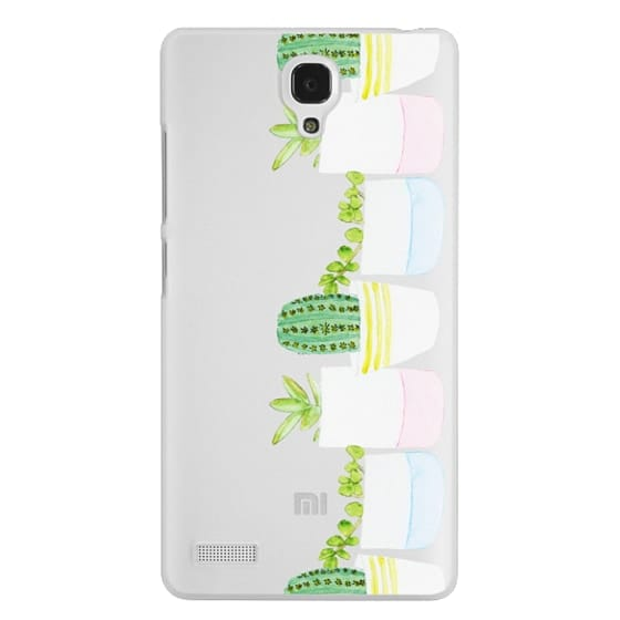 Redmi Note Cases - Happy Succulents