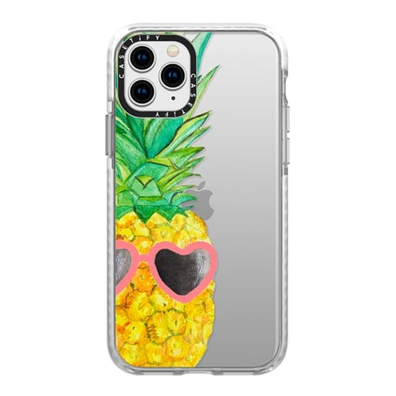 iPhone 11 Pro Cases - Pink Pineapple