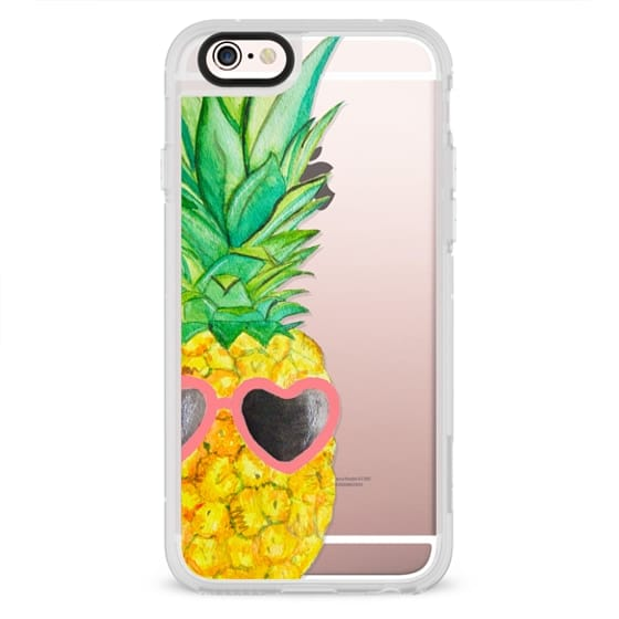 iPhone 6s Cases - Pink Pineapple