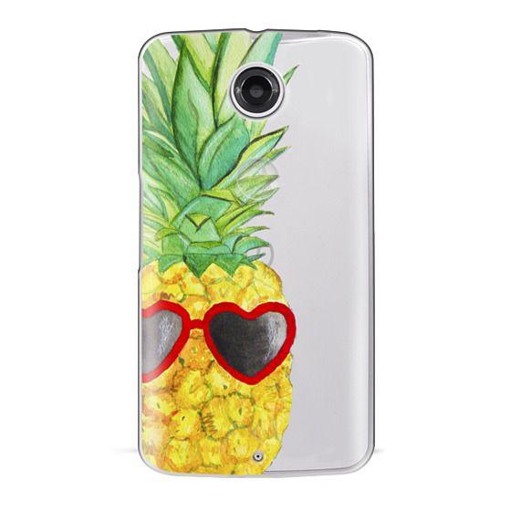 Nexus 6 Cases - Pineapple