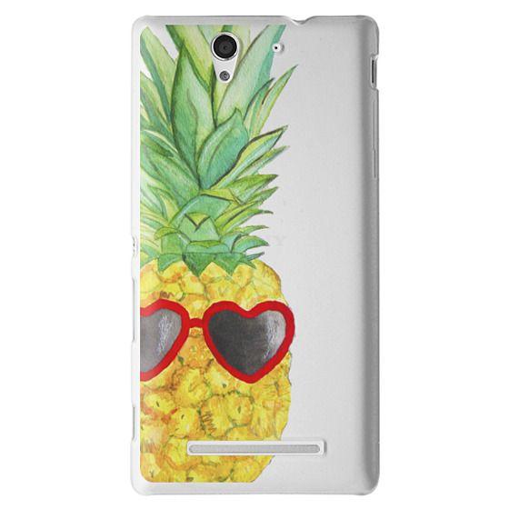 Sony C3 Cases - Pineapple