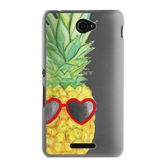 Sony E4 Cases - Pineapple