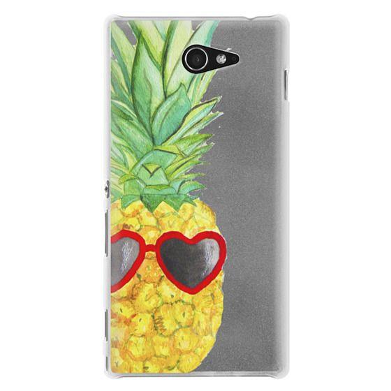 Sony M2 Cases - Pineapple