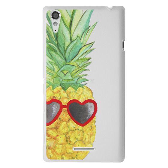 Sony T3 Cases - Pineapple