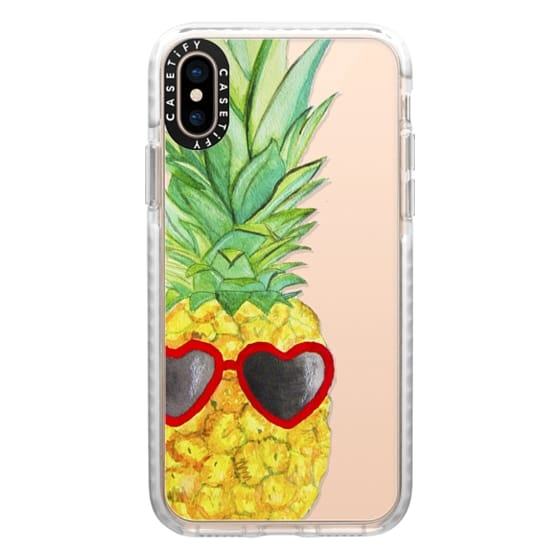 iPhone XS Cases - Pineapple