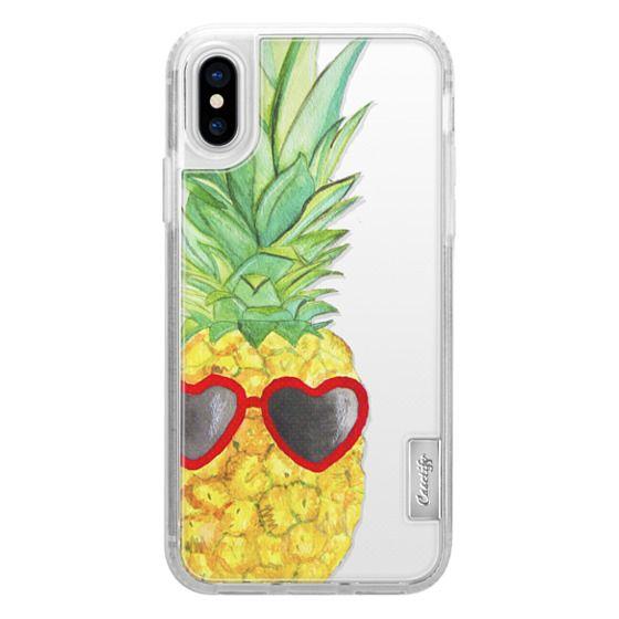 iPhone X Cases - Pineapple