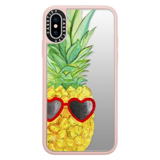 iPhone X Cases - Pineapple