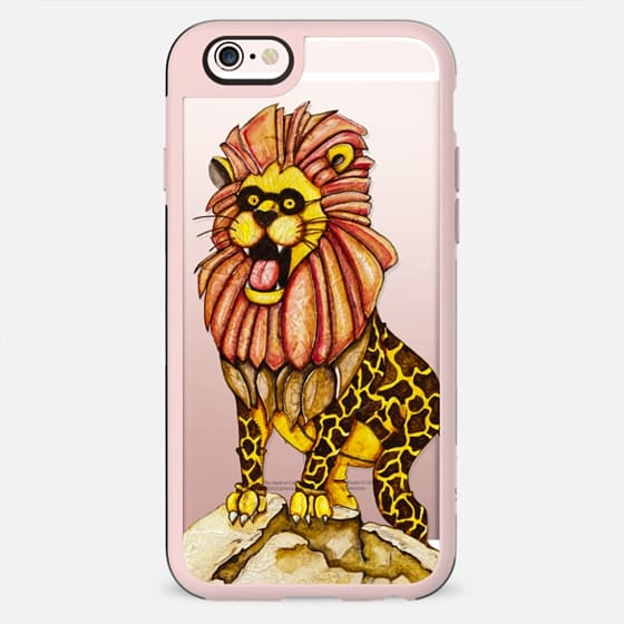 The lion with giraffe costume - New Standard Case