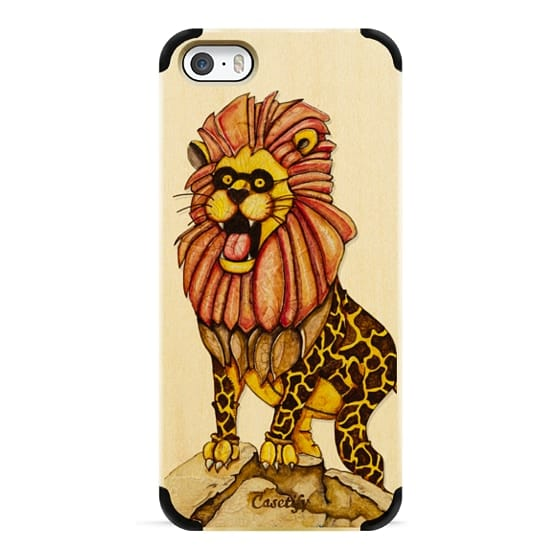 iPhone 6s Cases - The lion with giraffe costume