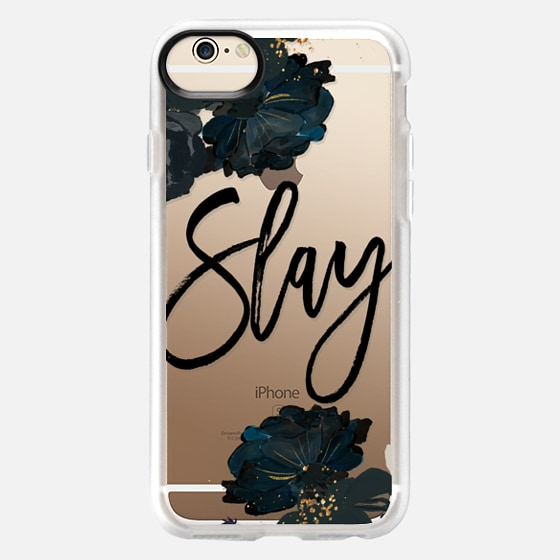 iPhone 6 Capa - Floral Black and White - Slay