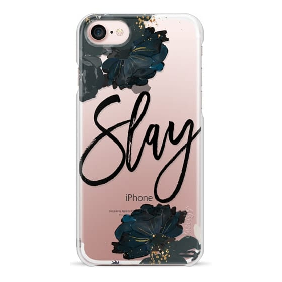 iPhone X Cases - Floral Black and White - Slay