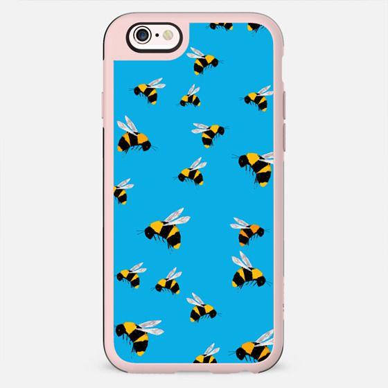 BEE'S ON BLUE - New Standard Case