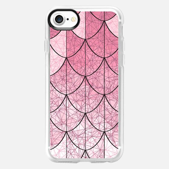 Mermaid scales. Pink - Wallet Case