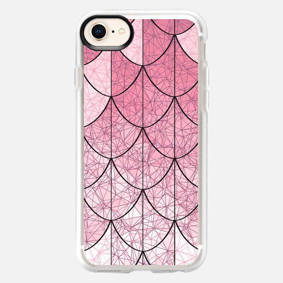 Mermaid scales. Pink - Snap Case