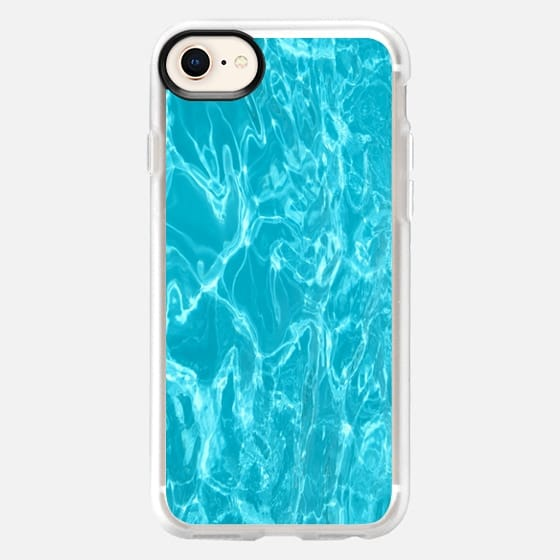 Water teal - Snap Case