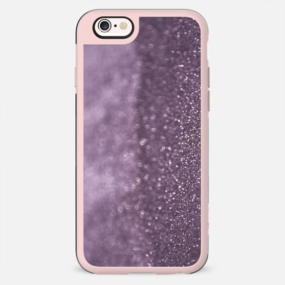 Glitter and lights purple - New Standard Case