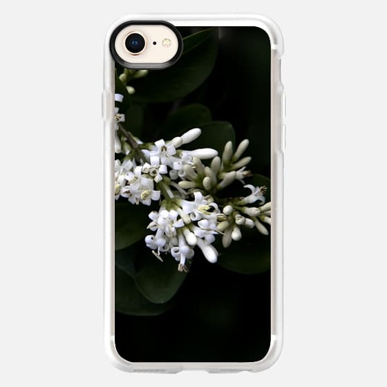 Flowers in white - Snap Case
