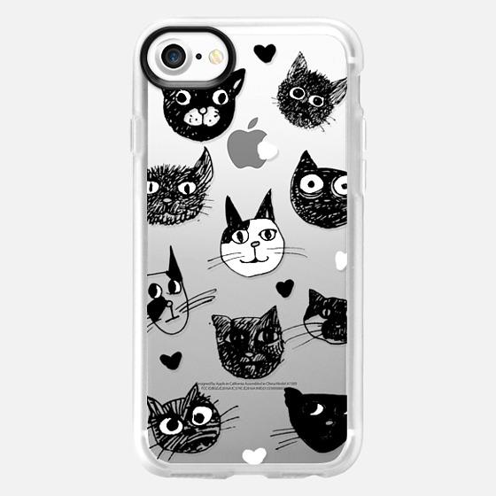 i love cats - Wallet Case