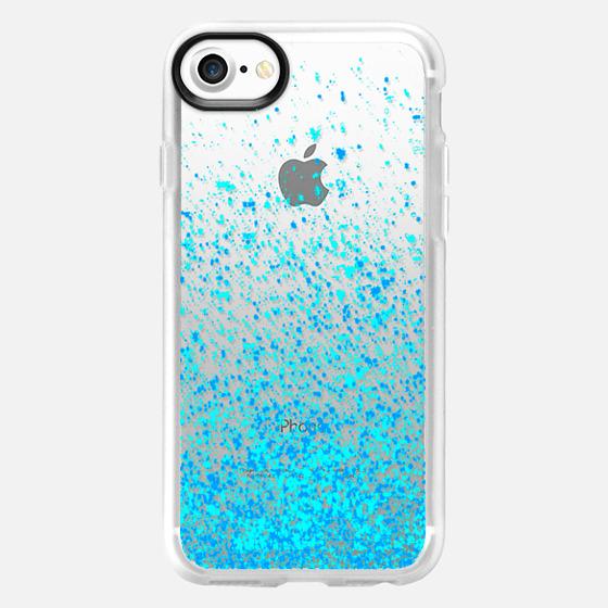 blue sparkles - Wallet Case