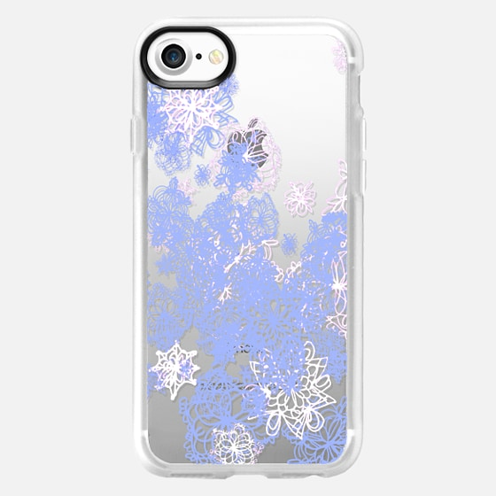 snow flowers - Wallet Case