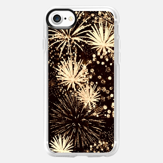 golden fireworks, ipad cover -