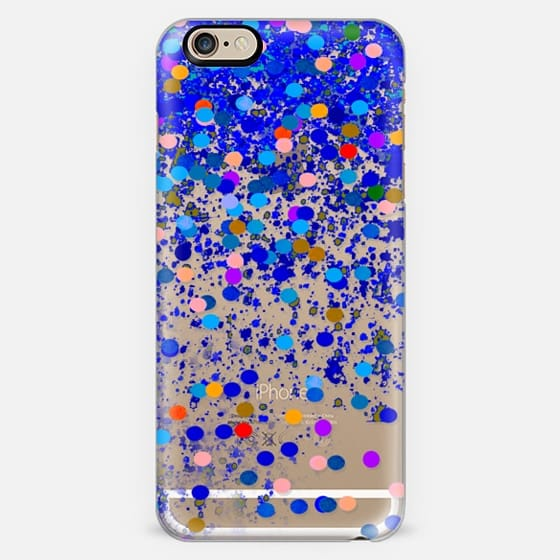 dark blue confetti -