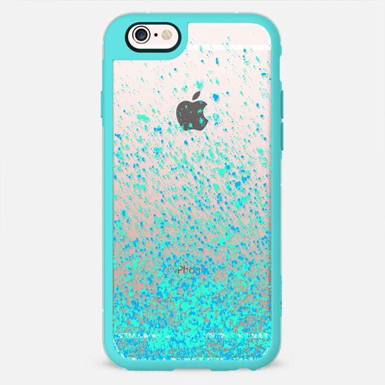 mint sparkles iphone6 -