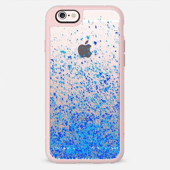 blue sparkle iphone6 -