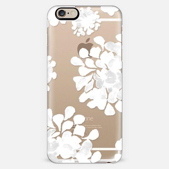 white flowers - New Standard Case