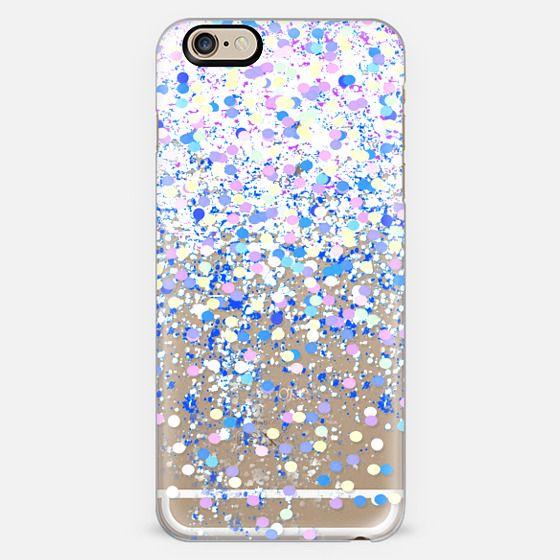 purple confetti -