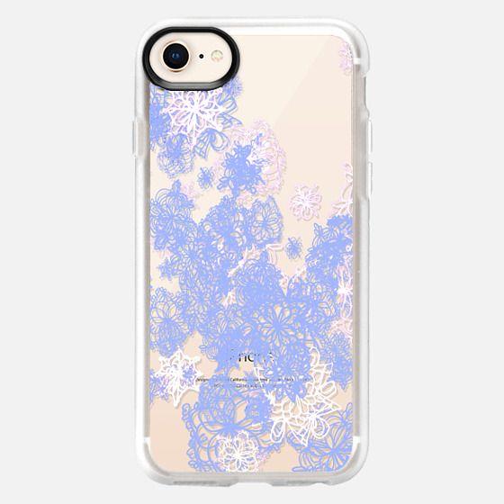 snow flowers - Snap Case
