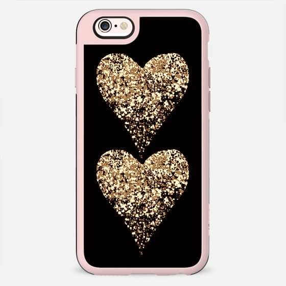 two golden hearts - New Standard Case