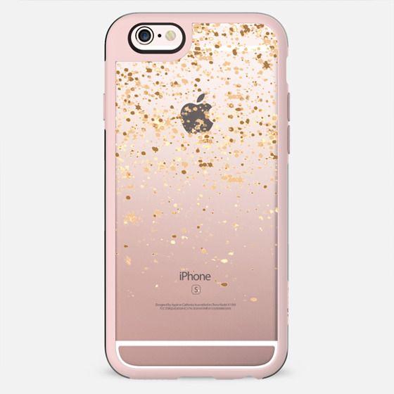 golden rain iphone case