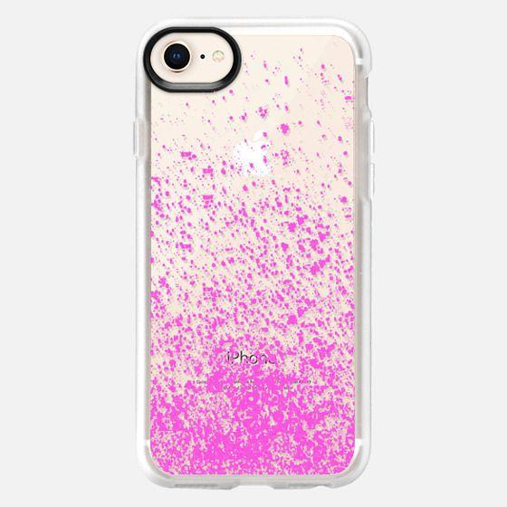 pink sparks - Snap Case
