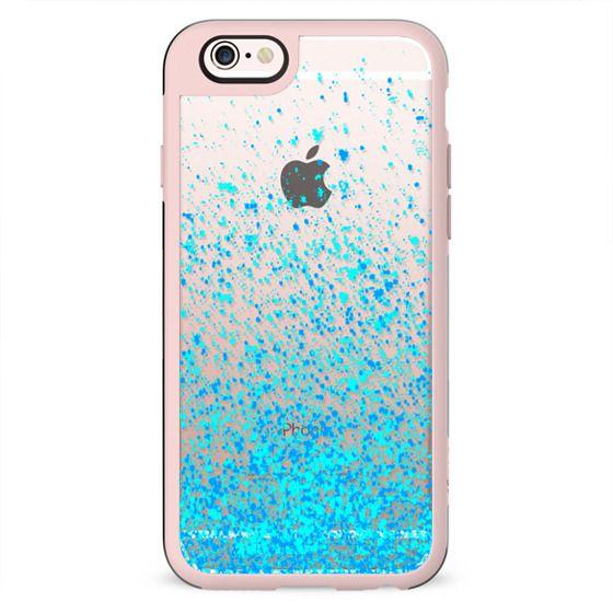 sparkle blue metaluxe