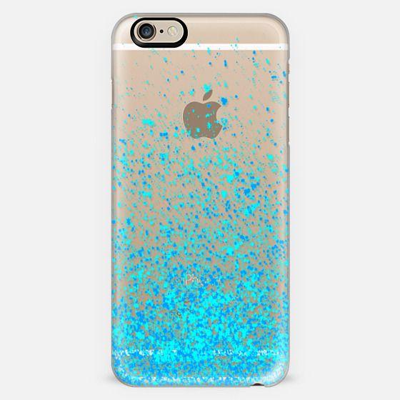 blue sparkles -